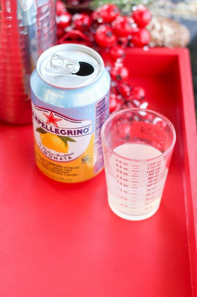 Grapefruit & Ginger Lemonade Mocktail