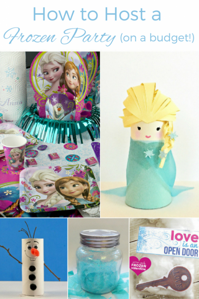 DIY Frozen Craft Ideas