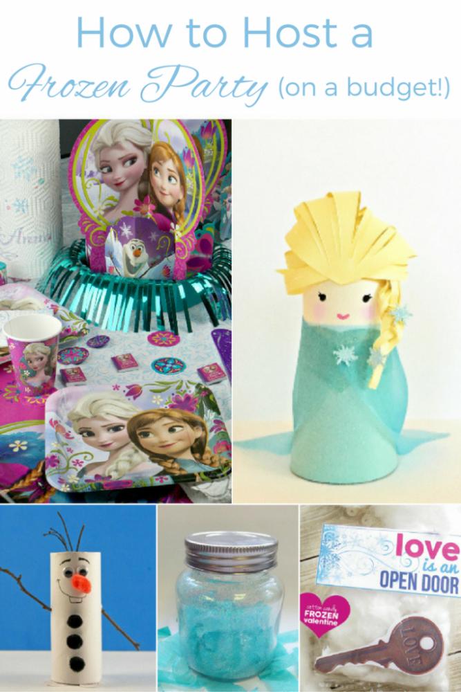 DIY Frozen Craft Ideas