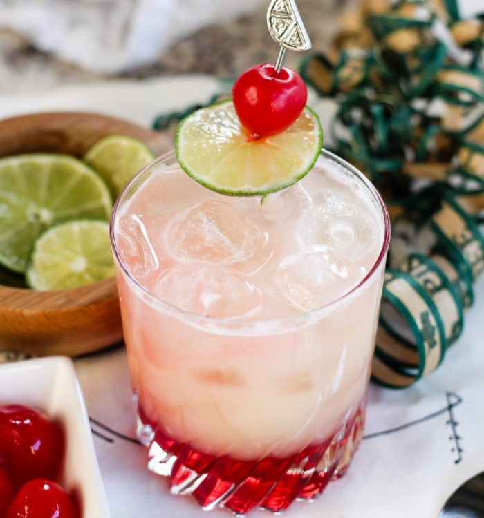 Pineapple Coconut Lime Mocktail