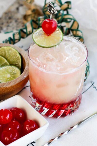 Pineapple Holiday Mocktail