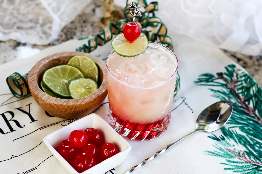 Pineapple Holiday Mocktail