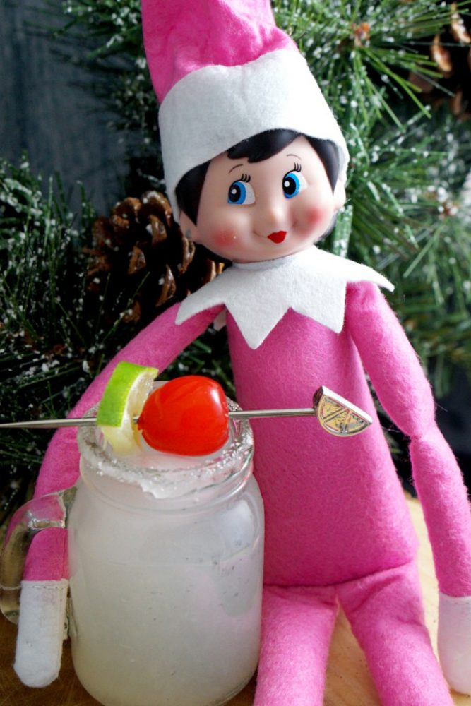 Elf on the Shelf Inspired Drink Series