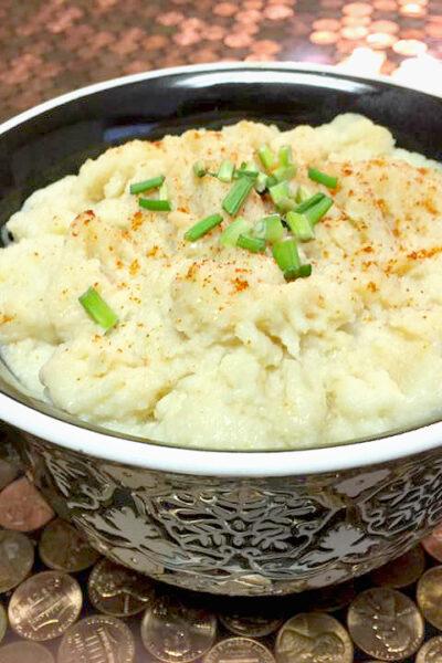 Easy Cauliflower Mash Low Points