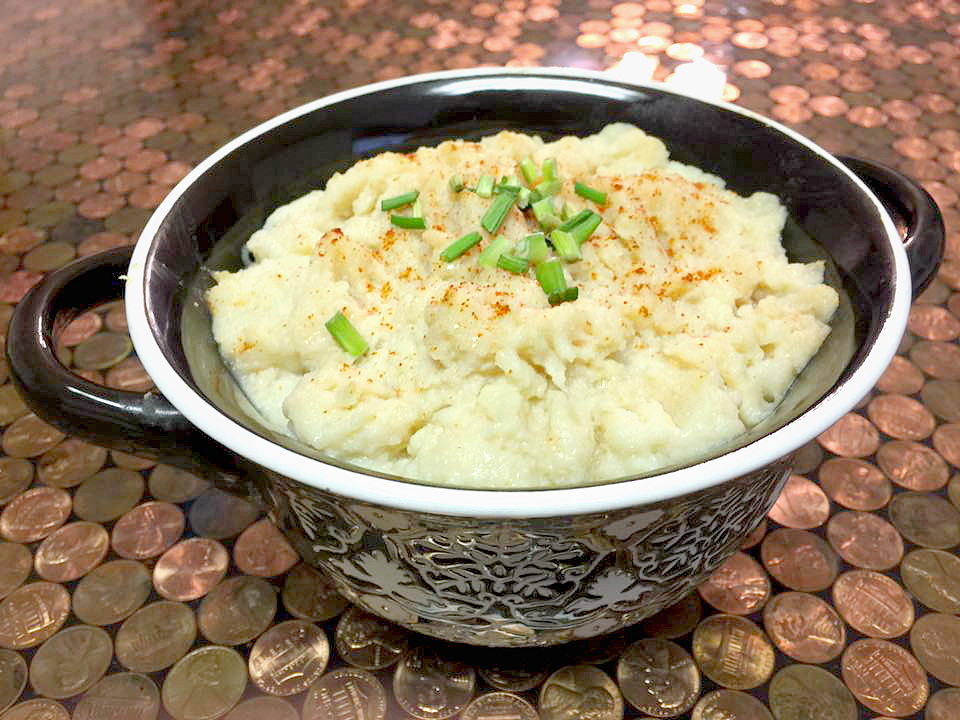 Easy Cauliflower Mash Low Points