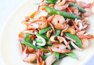 Easy Shrimp Cashew Stir Fry