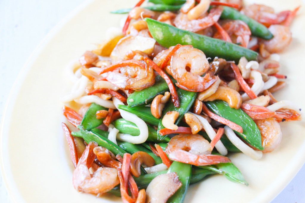 Easy Shrimp Cashew Stir Fry