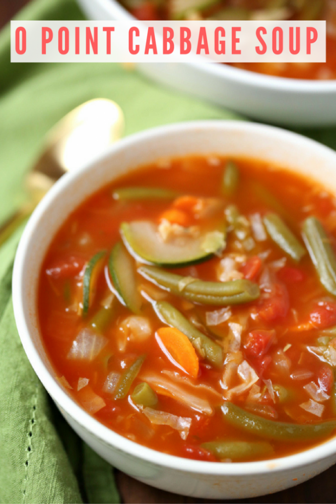 0 Point Cabbage Soup
