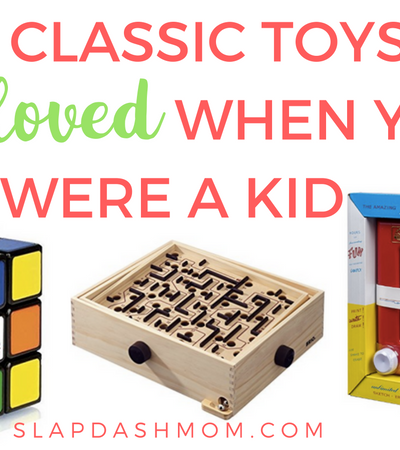10 Classic Toys You Loved as a Child