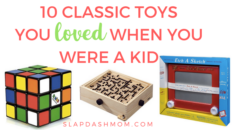 10 Classic Toys You Loved As a Kid