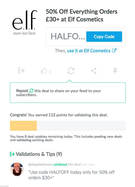dealspotr codes