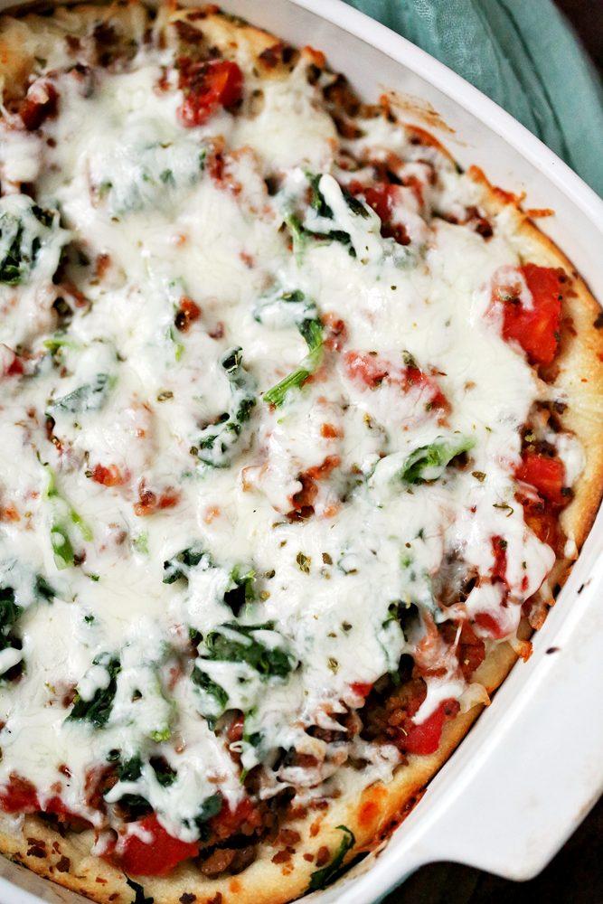 Super Bowl Pizza Casserole
