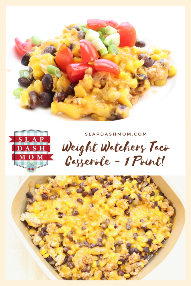 Weight Watcher Taco Casserole - 1 Point