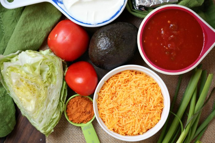 Weight Watchers Taco Dip - Great Super Bowl Recipe with Low Points