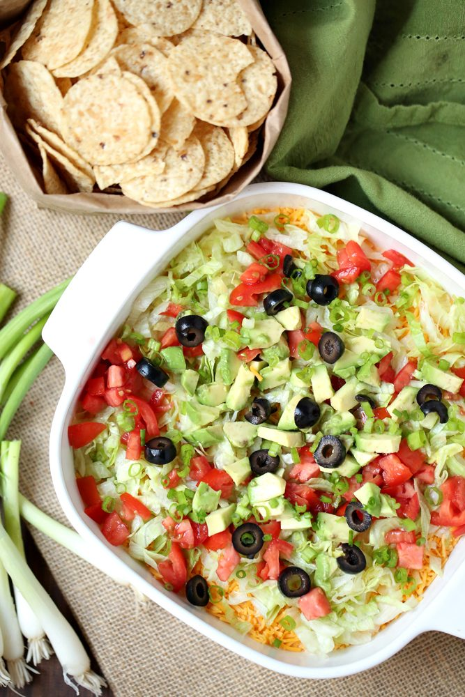 Super Bowl Weight Watchers Recipe: Taco Dip