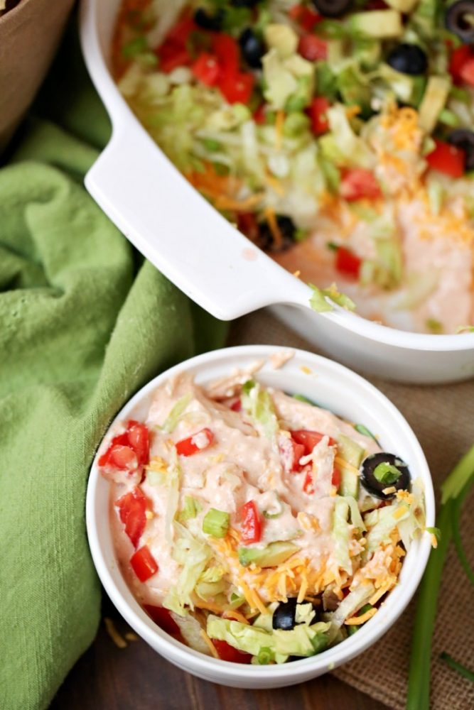 Weight Watchers Taco Dip