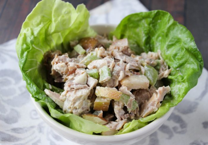 Easy Turkey Waldorf Salad