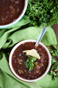 Weight Watchers Black Bean Soup