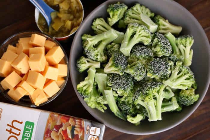 Weight Watchers Broccoli Cheddar Soup Low Points