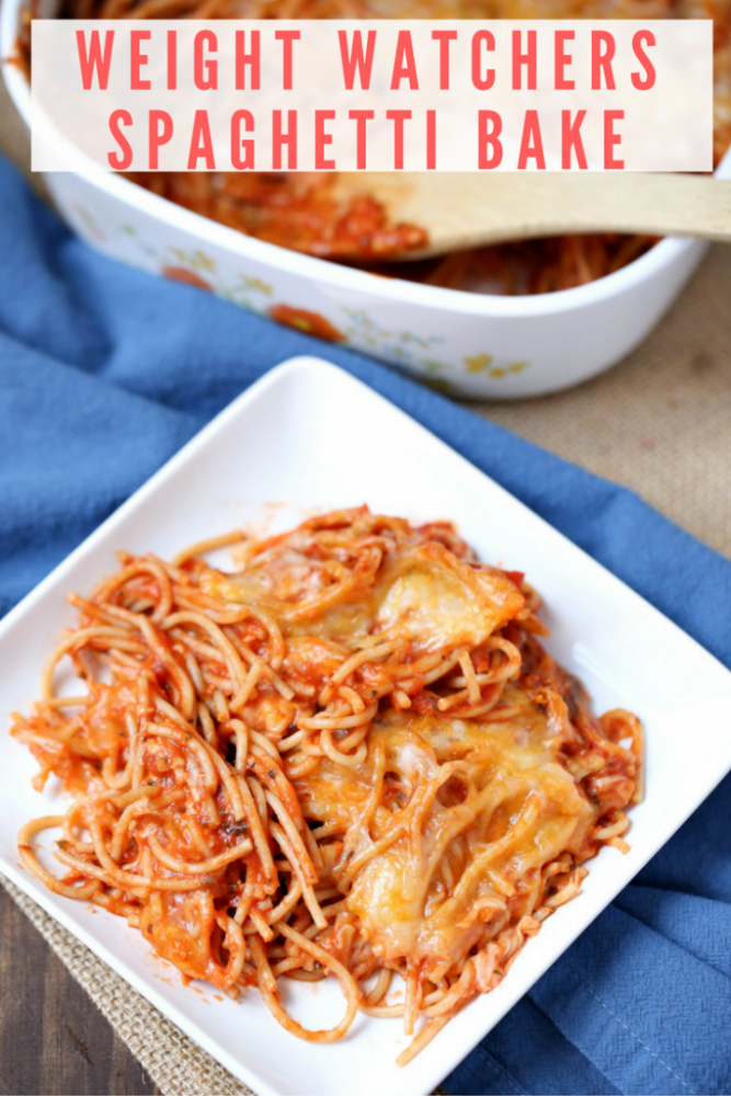 Weight Watchers Spaghetti Bake - Easy Dinner for Families