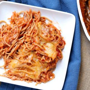 Weight Watchers Spaghetti Bake