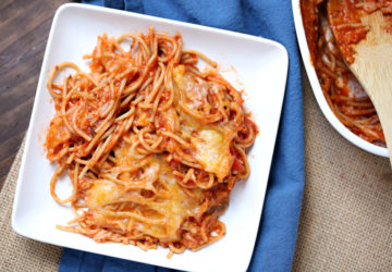 Weight Watchers Spaghetti Bake