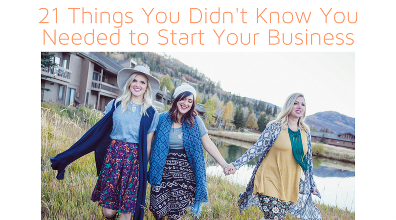 21 Things You Didn't Know You Needed to Start Your LuLaRoe Business