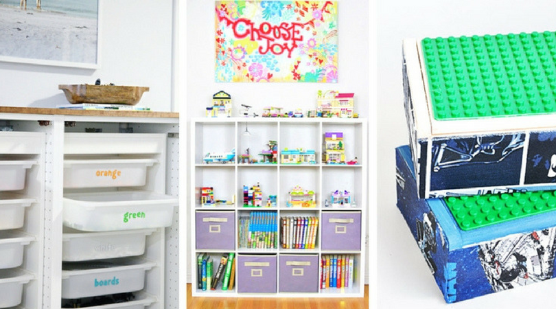 Absolutely Genius LEGO Storage Ideas