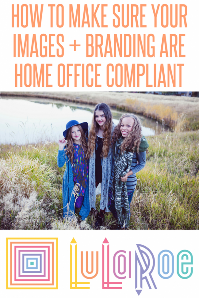 Make sure LuLaRoe designs are home office compliant with this checklist!