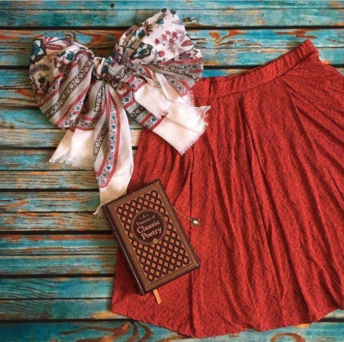 LuLaRoe Madison Skirt style ideas
