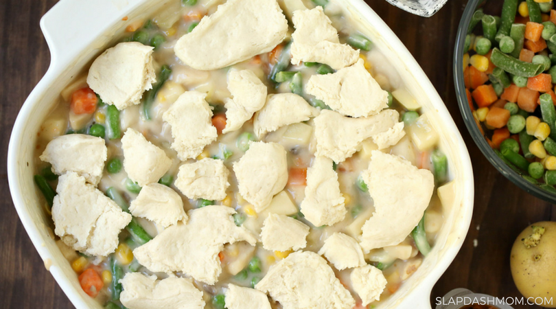 Weight Watchers Pot Pie Casserole – 6 SmartPoints (Freestyle)