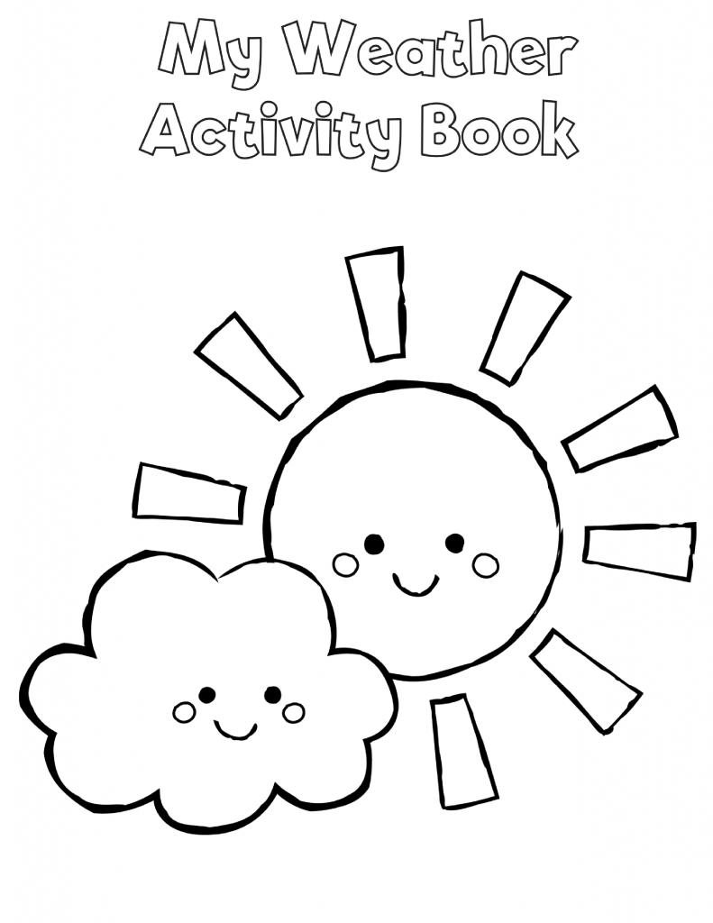 Free Preschool Weather Activity Book