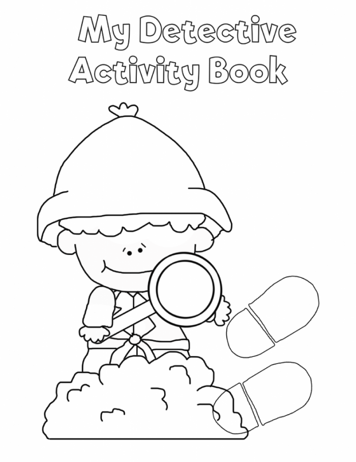 Free Printable Detective Workbook