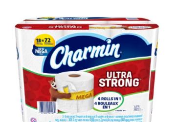 Charmin Ultra Strong Mega Rolls