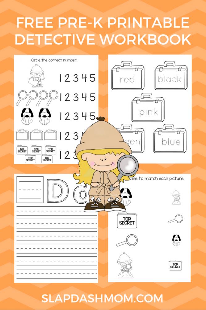 Preschool Detective Unit Study Resources