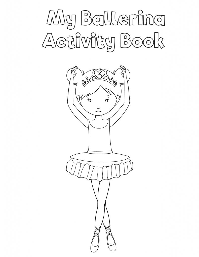 Free Printable Preschool Ballerina Workbook