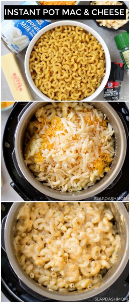 Macaroni and Cheese in the Instant Pot