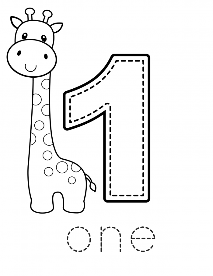 Preschool Number Printable Workbook - FREE