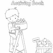 Free Preschool Apple Activity Book
