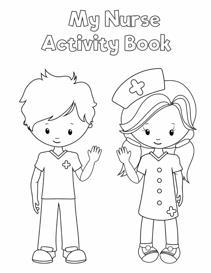 Preschool Printable Health Activity Book