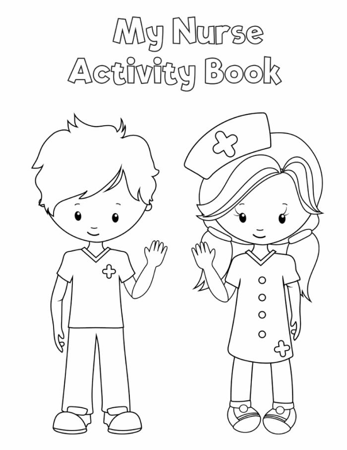 Preschool Printable Health Activity Book