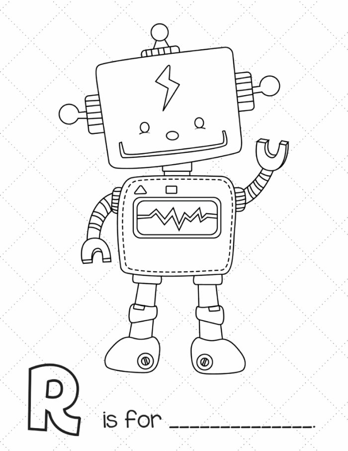 graphic regarding Printable Robot identified as No cost Printable Robotic Workbook Slap Sprint Mother