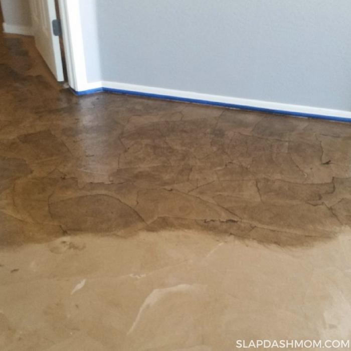 Easy Paper Bag Floor Tutorial