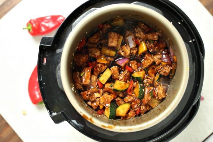 Kung Pao Chicken in the Instant Pot