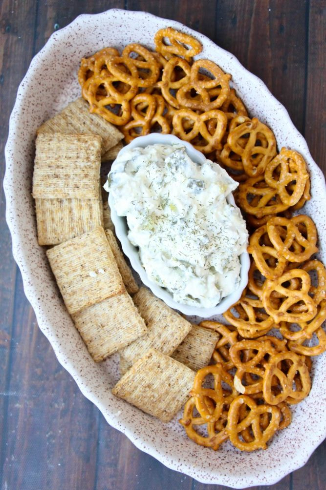 Easy Dill Pickle Dip