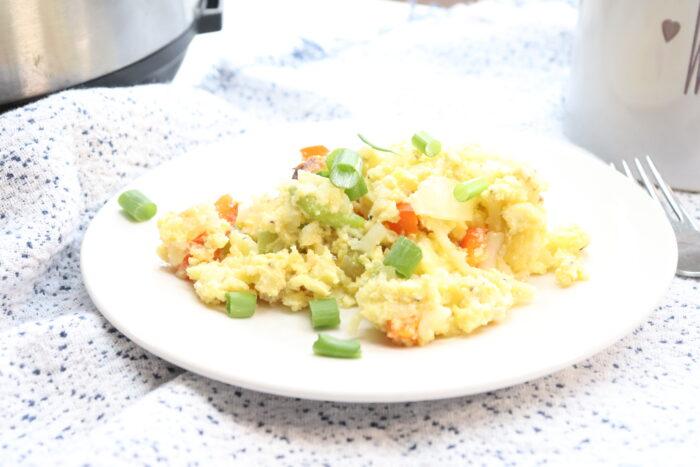 Instant Pot Egg Bake Recipe