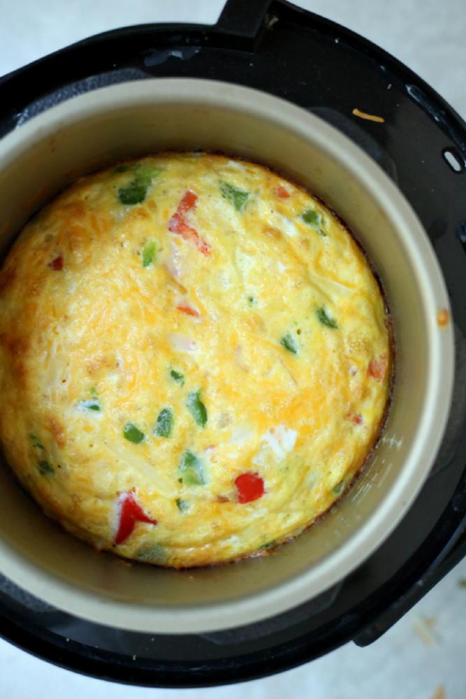 InstantPot Egg Bake