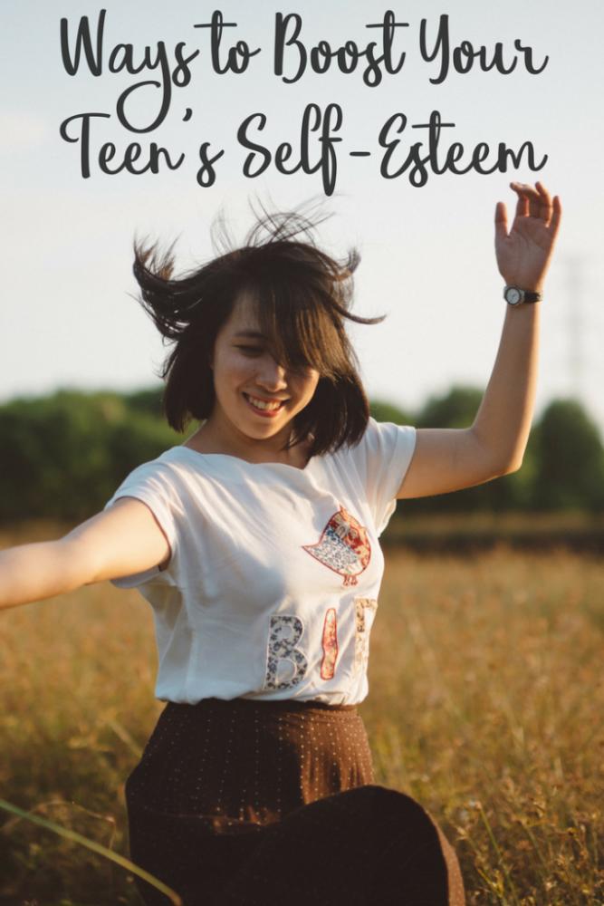 How to Boost Your Teen's Self-Esteem