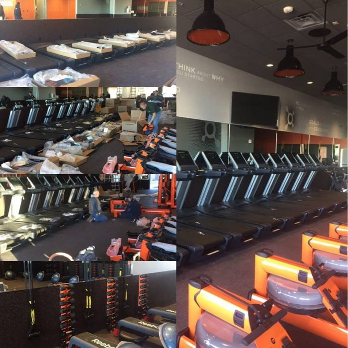 What an OrangeTheory Workout Looks Like