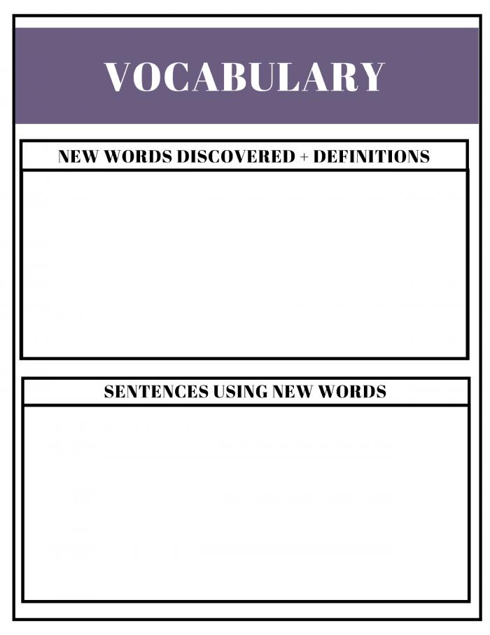 Free Unit Study Planner Printable